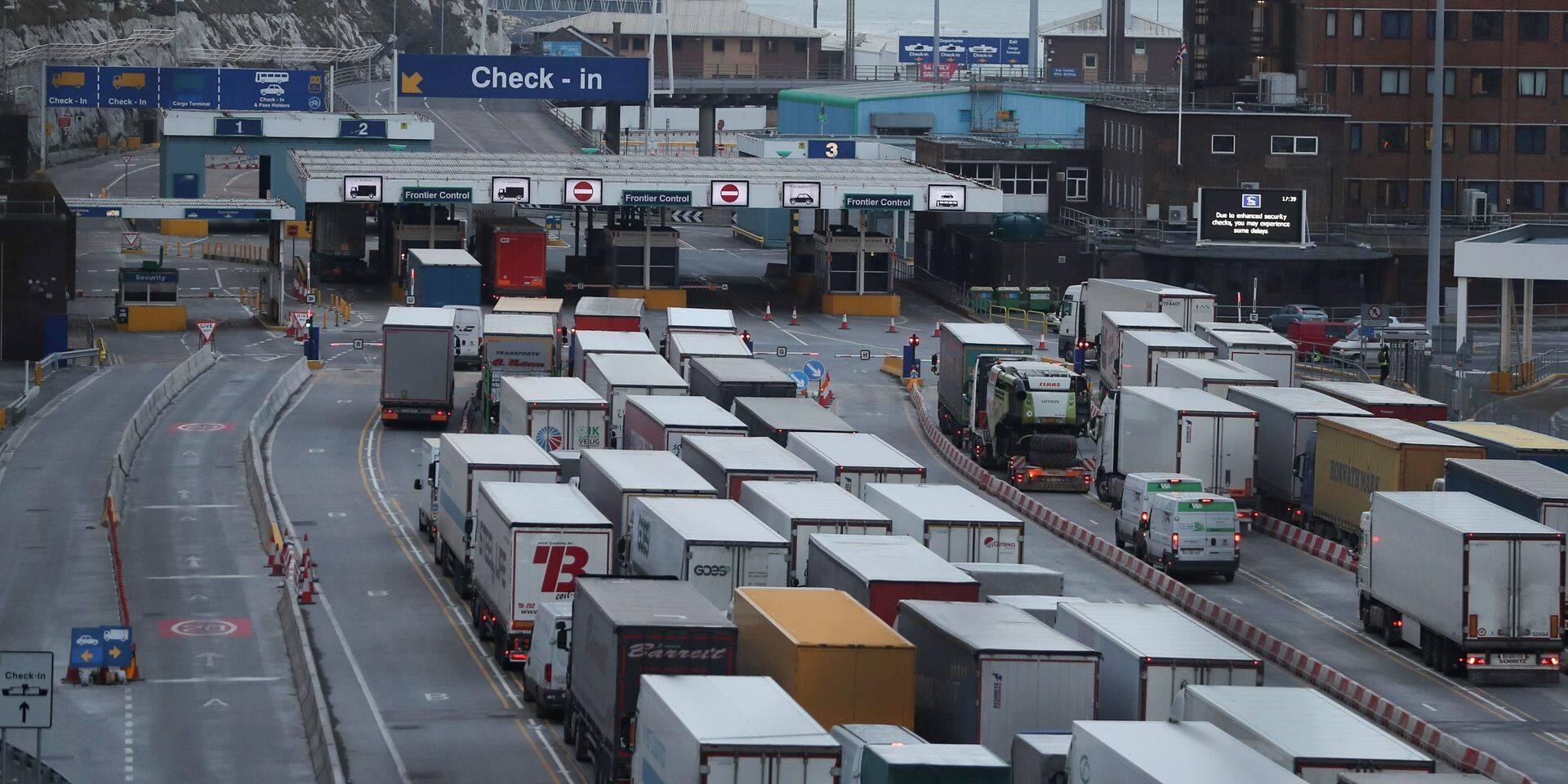 L'accord commercial entre l'UE et le Royaume-Uni devrait faire monter le PIB belge de 0,4 point de pourcentage