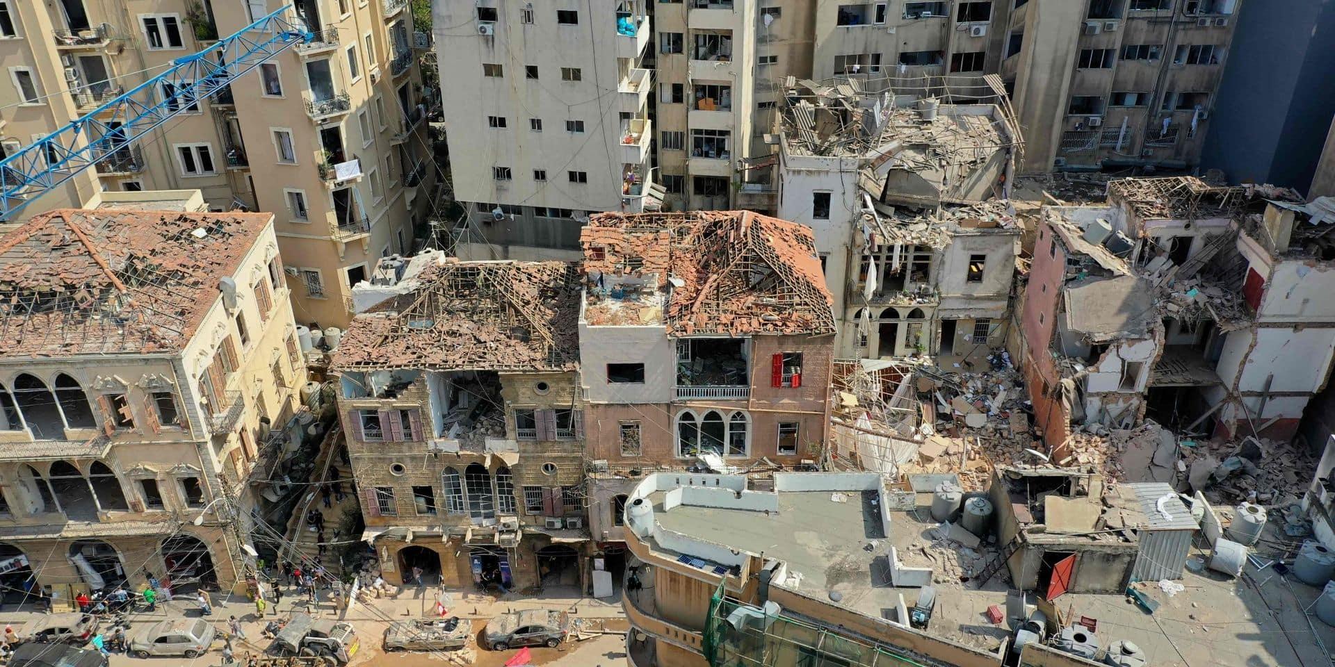 La communauté internationale en visioconférence pour organiser l'aide à apporter au Liban après les explosions de Beyrouth