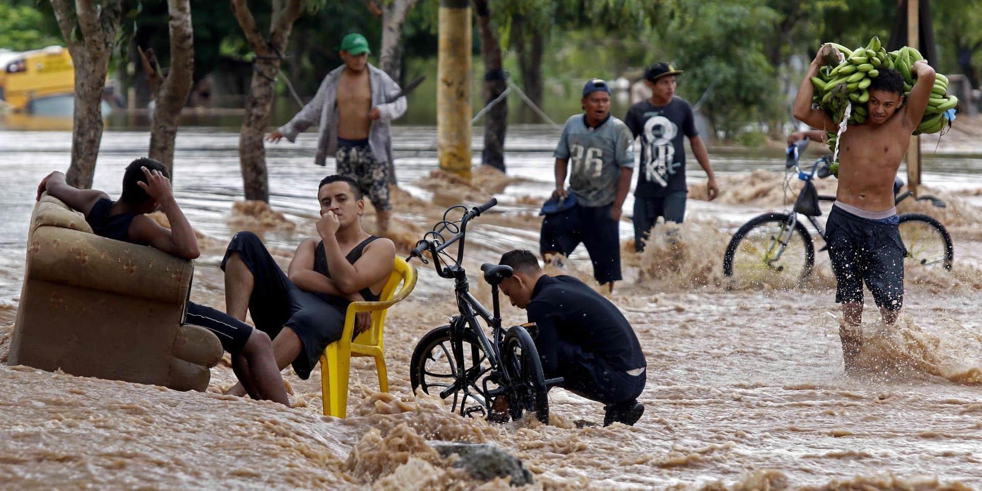 Le département du Yoro, au Honduras, a été particulièrement touché par la tempête Iota.
