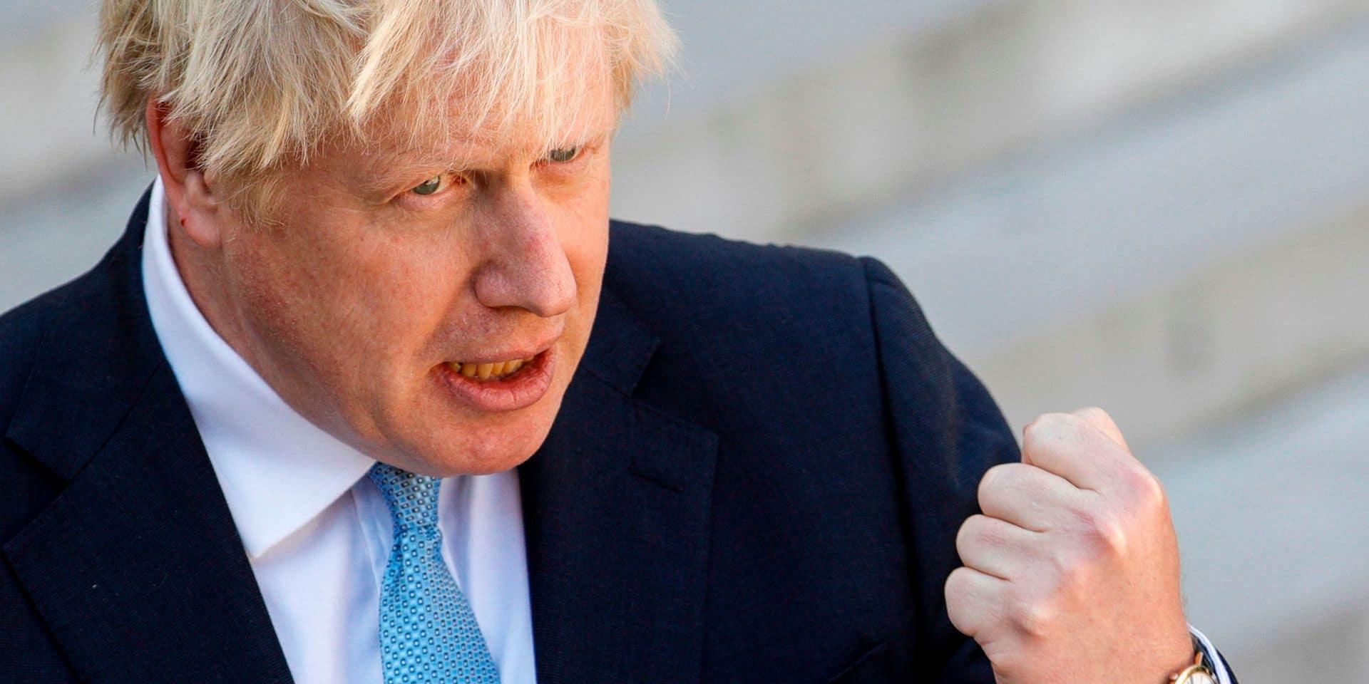 """""""Une chance d'obtenir un accord"""": une rencontre clé attend Boris Johnson ce jeudi"""