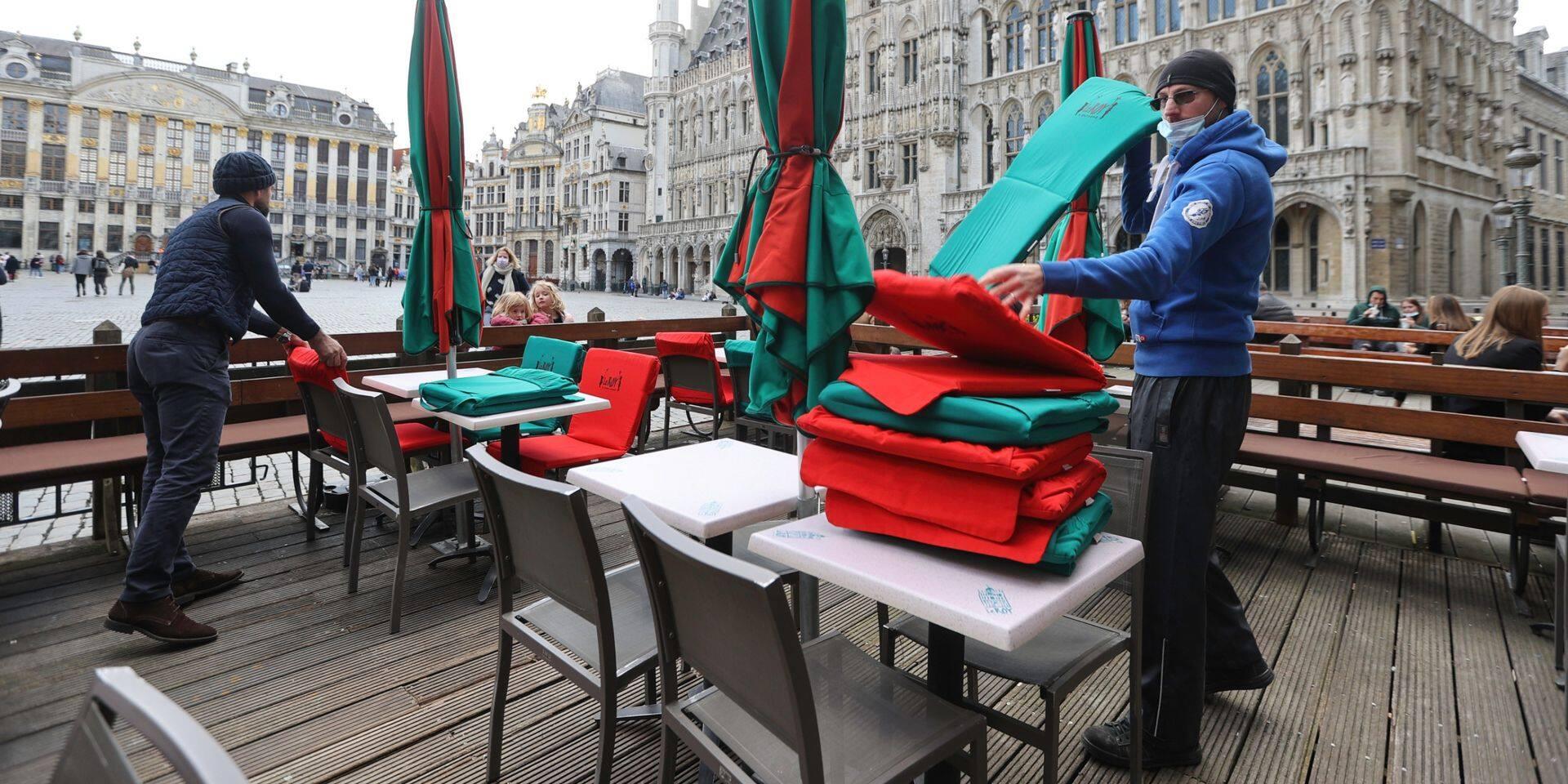 """""""Nous ne sommes pas une oeuvre de charité"""" : l'horeca fustige le protocole terrasse"""