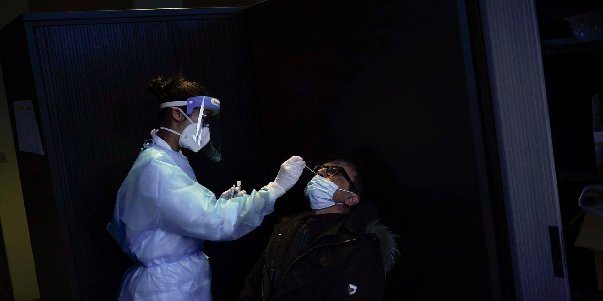 Coronavirus : augmentation de 26% des infections quotidiennes