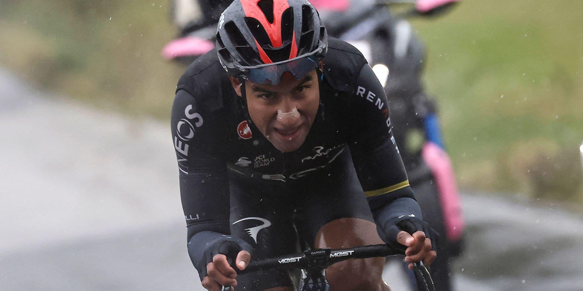 Giro: Narvaez s'offre l'étape, statu quo entre les favoris