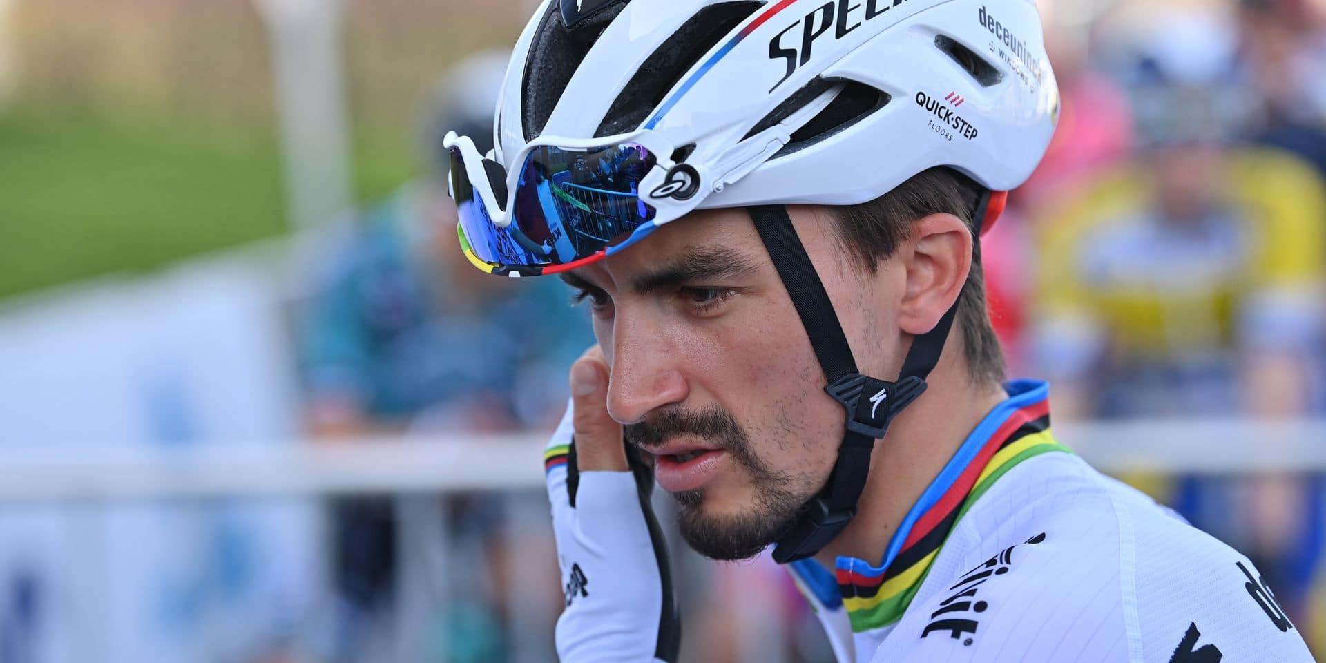 """Tour des Flandres: Julian Alaphilippe est """"ici pour gagner"""""""