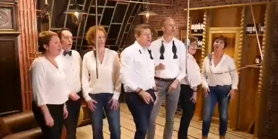 Les big boss des fonctionnaires wallons se lâchent dans une vidéo au résultat assez amateur