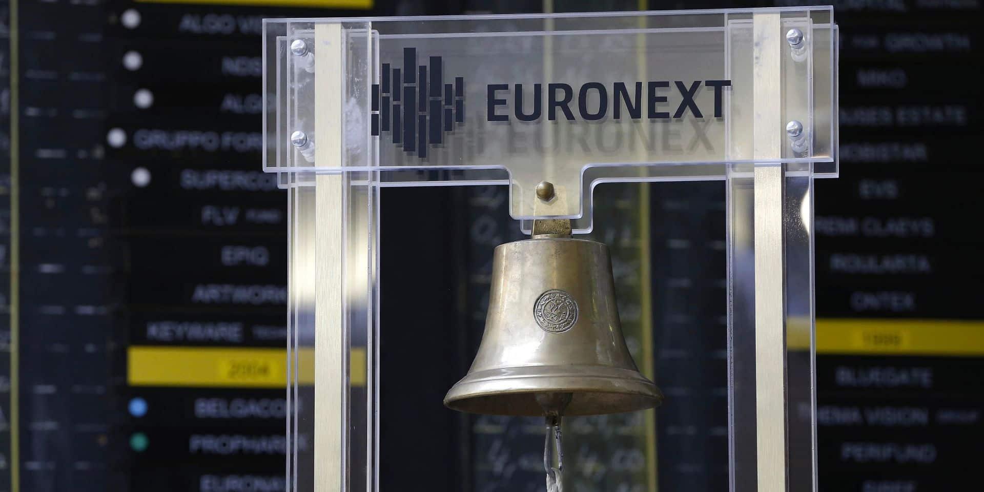 Les Bourses européennes terminent en ordre dispersé, le BEL 20 à la traine dans le sillage de Solvay et KBC