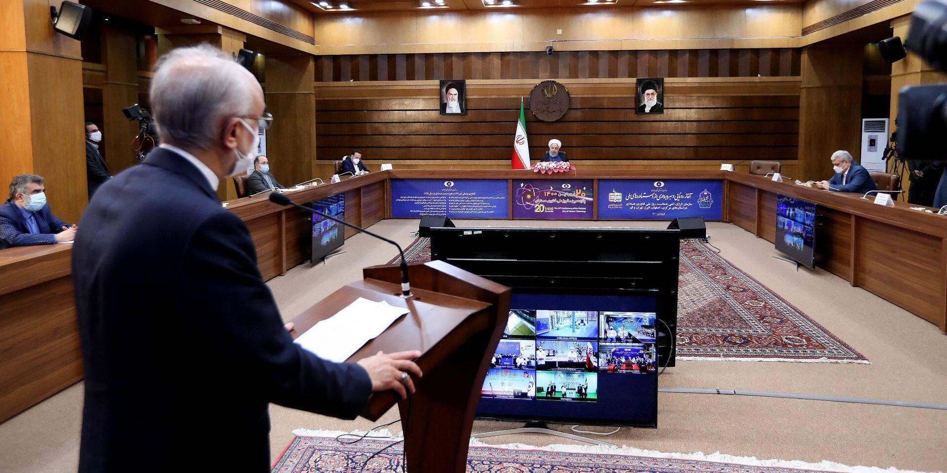 """Son usine de Natanz à nouveau visée, l'Iran crie au """"terrorisme nucléaire"""""""