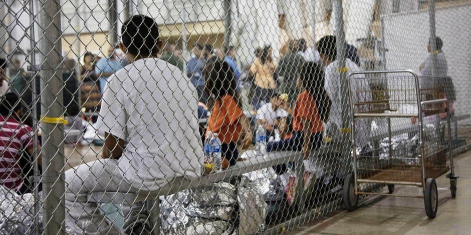 Des enfants de migrants mis en cage par l'administration Trump — États-Unis