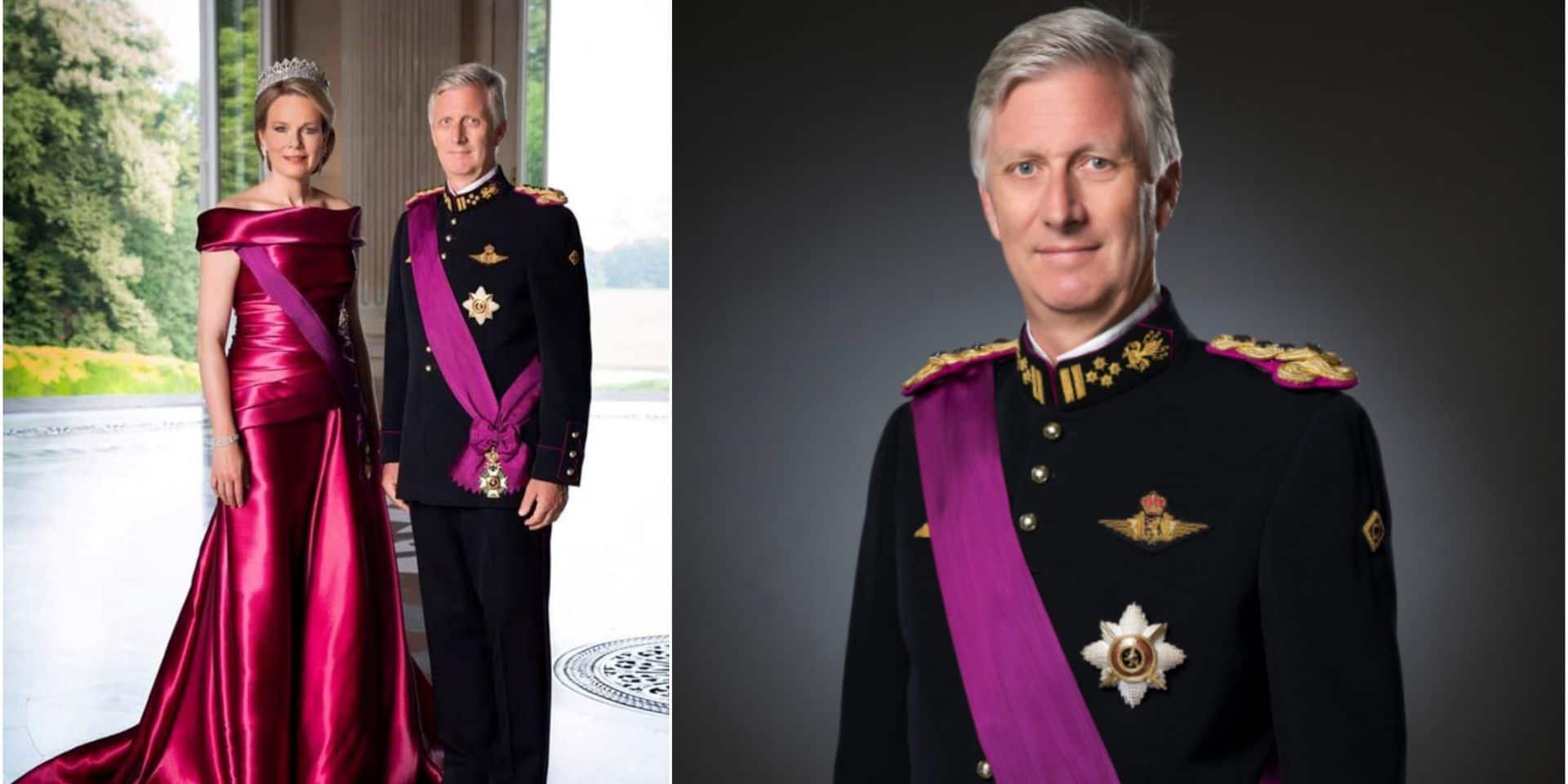 Nouvelles photos officielles pour le roi Philippe et la reine Mathilde