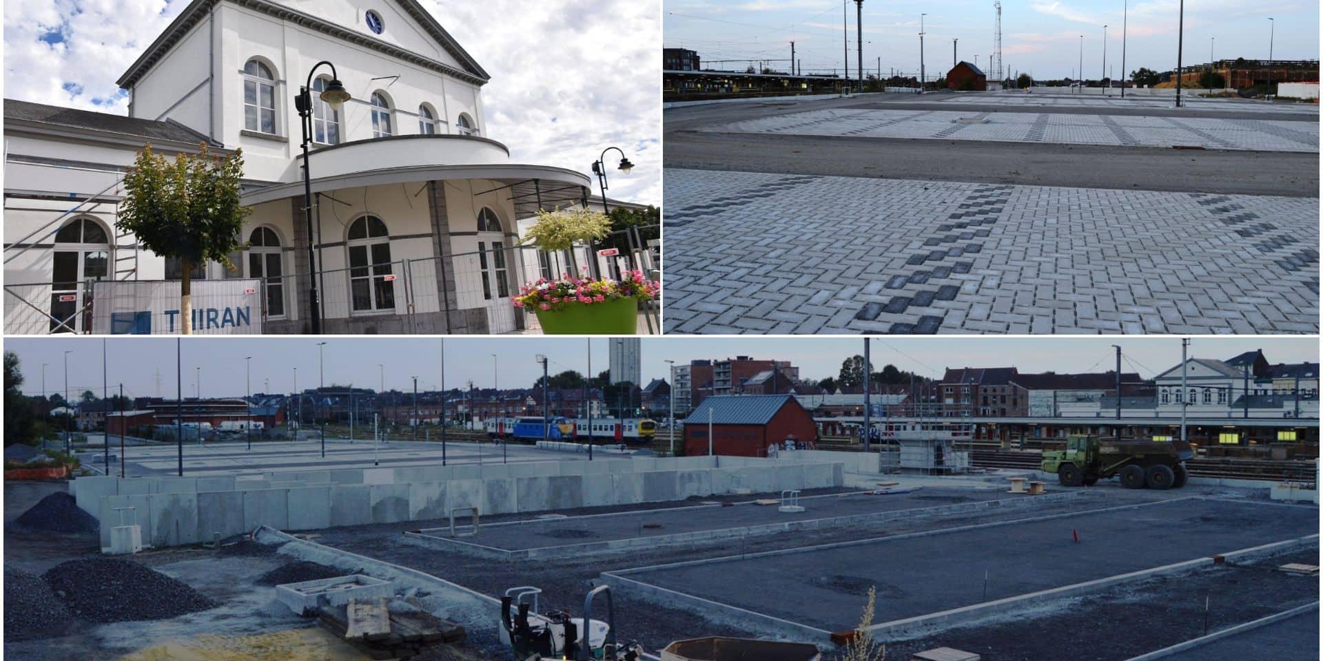 Gare de Braine-le-Comte: les escalators seront rénovés, le vaste chantier bientôt terminé
