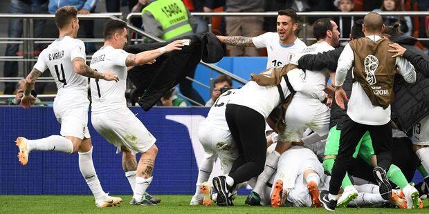 L'Uruguay vient à bout de l'Egypte dans les dernières secondes (0-1) - La Libre