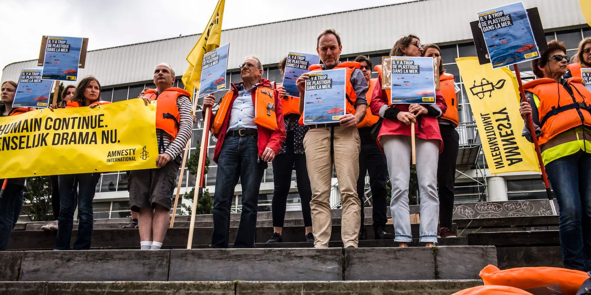 Asile et migration : les noms de 36.570 migrants décédés lus à Bruxelles
