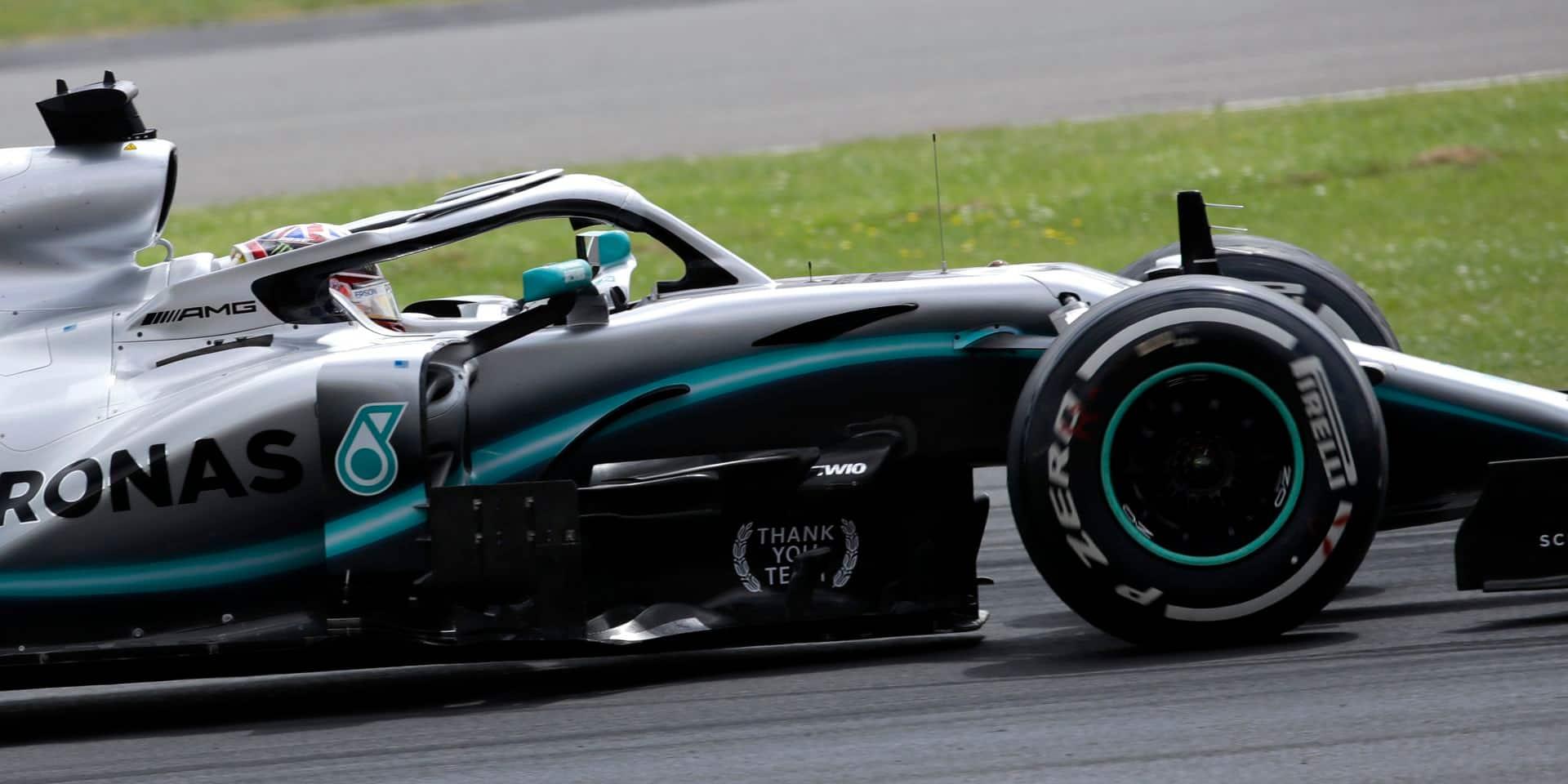 Hamilton remporte le GP de Grande-Bretagne pour la 6e fois