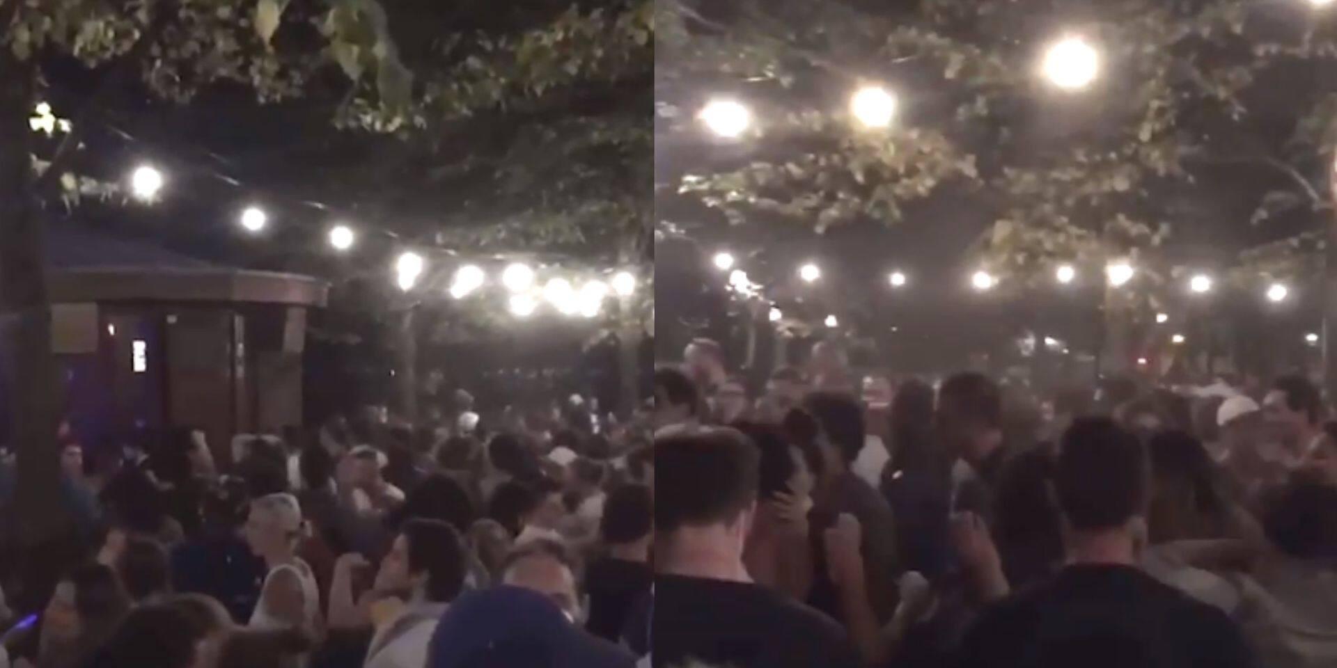 """Une fête organisée au Parc royal devient hors de contrôle: """"Ils étaient très proches les uns des autres"""""""