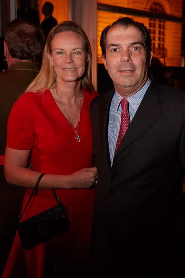 Prince Charles-Emmanuel de Bourbon Parme et son épouse la princesse Constance de Bourbon Parme.