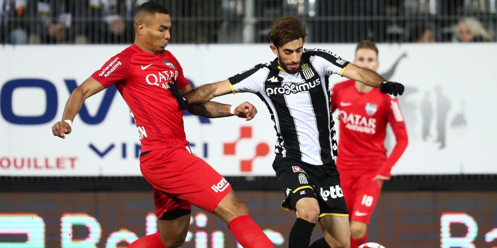 Charleroi s'impose dans la douleur face à Eupen grâce à Kaveh Rezaei (1-0)