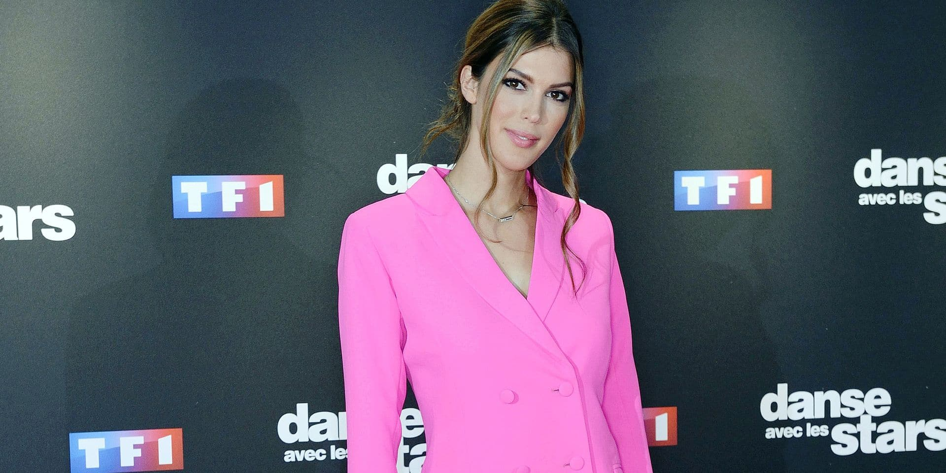 Iris Mittenaere attending the Danse Avec Les Stars photocall at TF1 TV studios in Paris, France on September 11, 2018. Photo by Aurore Marechal/ABACAPRESS.COM Reporters / Abaca