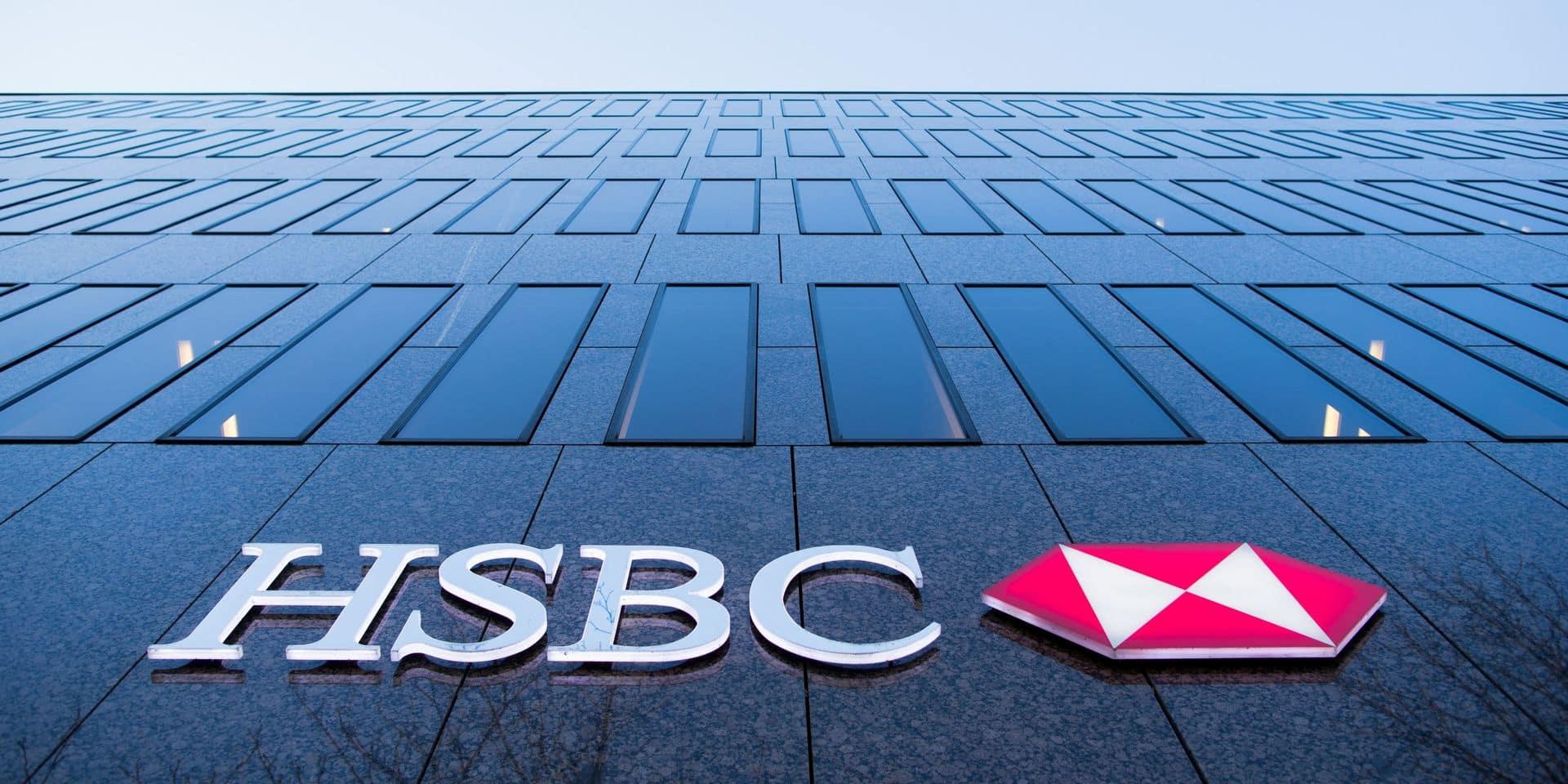 L'action HSBC au plus bas depuis 1995