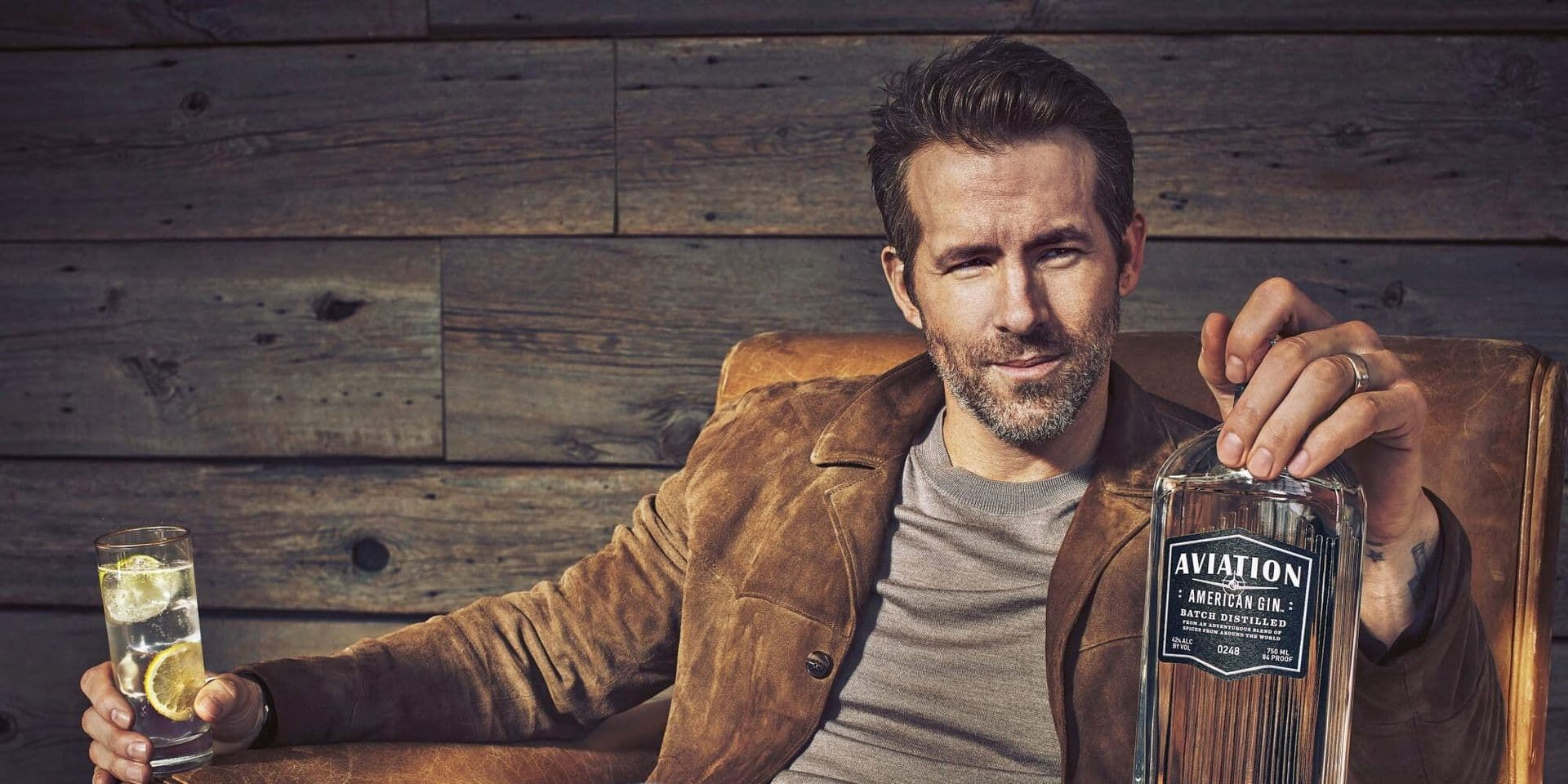 Ryan Reynolds encore plus riche grâce au gin