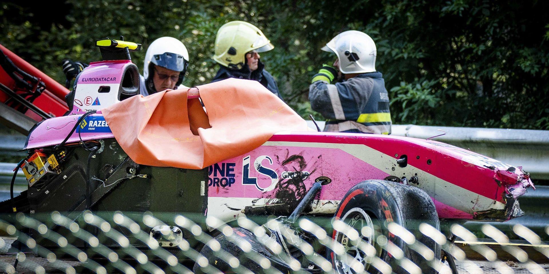 Personne n'est jugé responsable de l'accident mortel d'Anthoine Hubert à Spa-Francorchamps