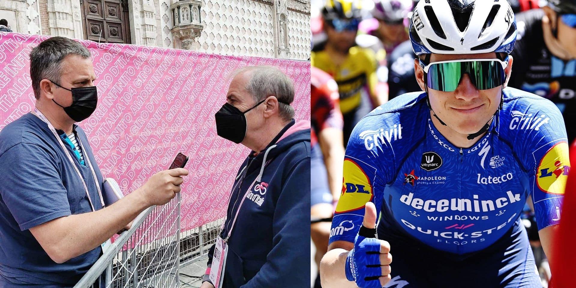 """Mauro Vegni, le patron du Giro, est lui aussi sous le charme de Remco: """"Evenepoel fait du bien au vélo"""""""