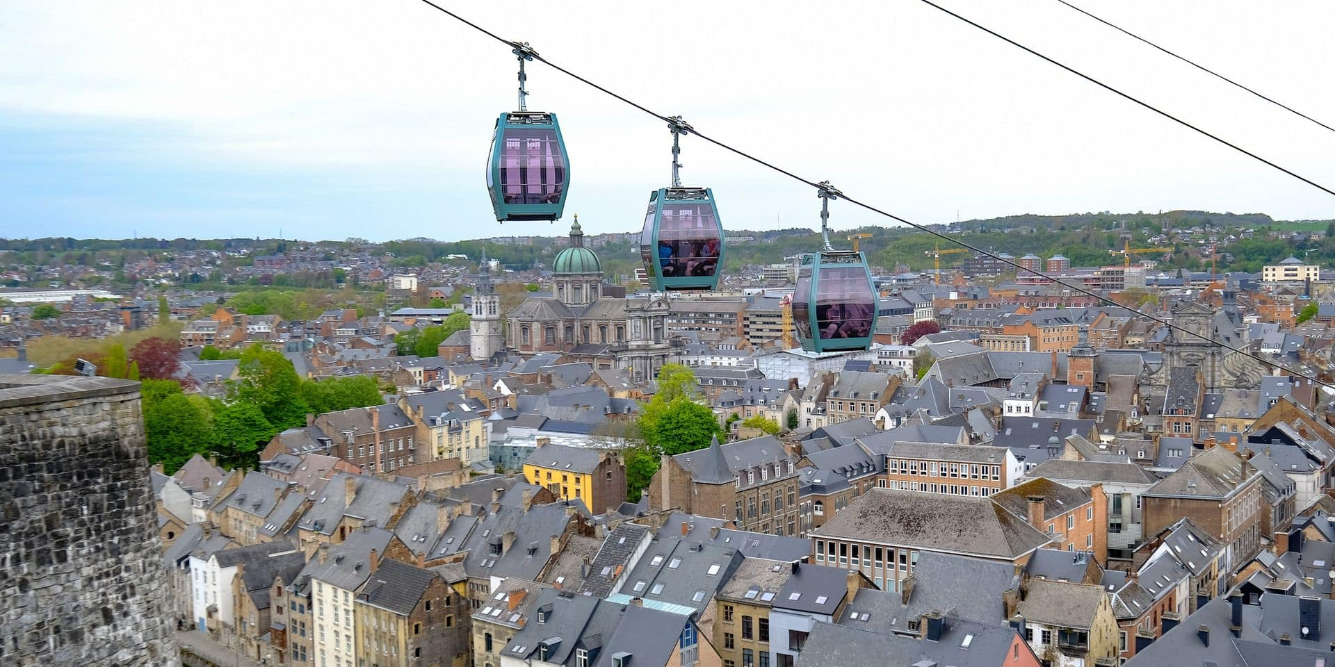 À la rentrée, le téléphérique de Namur emmènera les enfants à l'école