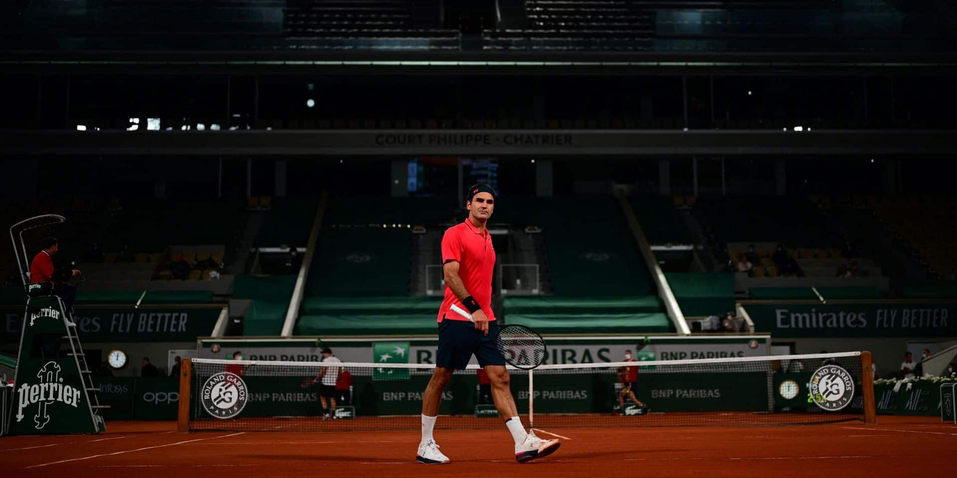 Federer s'est fait peur face à Köpfer mais rejoint les huitièmes
