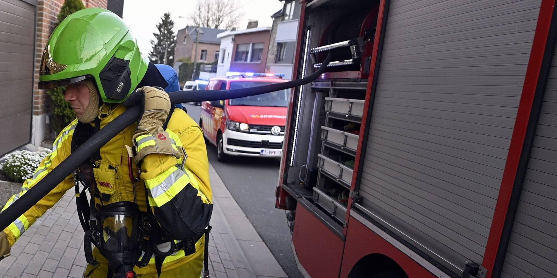 Liège : six personnes blessées dans un important incendie