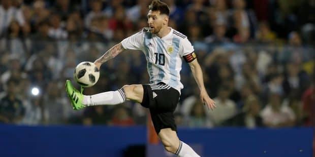 """La Palestine appelle à """"brûler les maillots"""" de Messi s'il joue contre Israël - La Libre"""