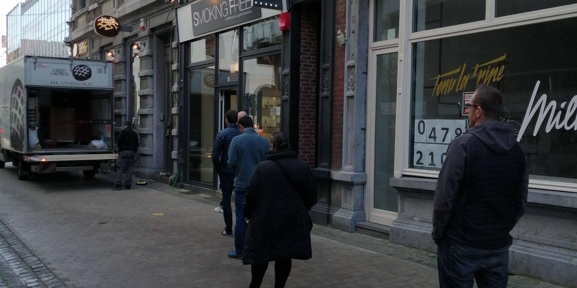 """Le centre-ville de Liège en mode """"lockdown"""""""