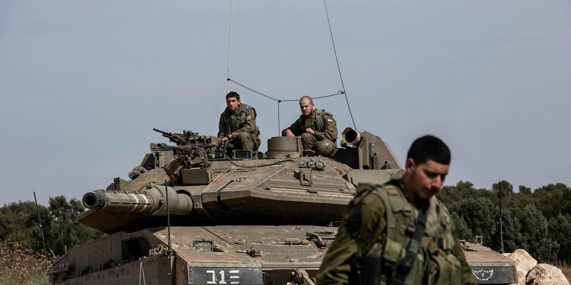 """Après un """"tir de missile"""" depuis la Syrie, Israël riposte"""