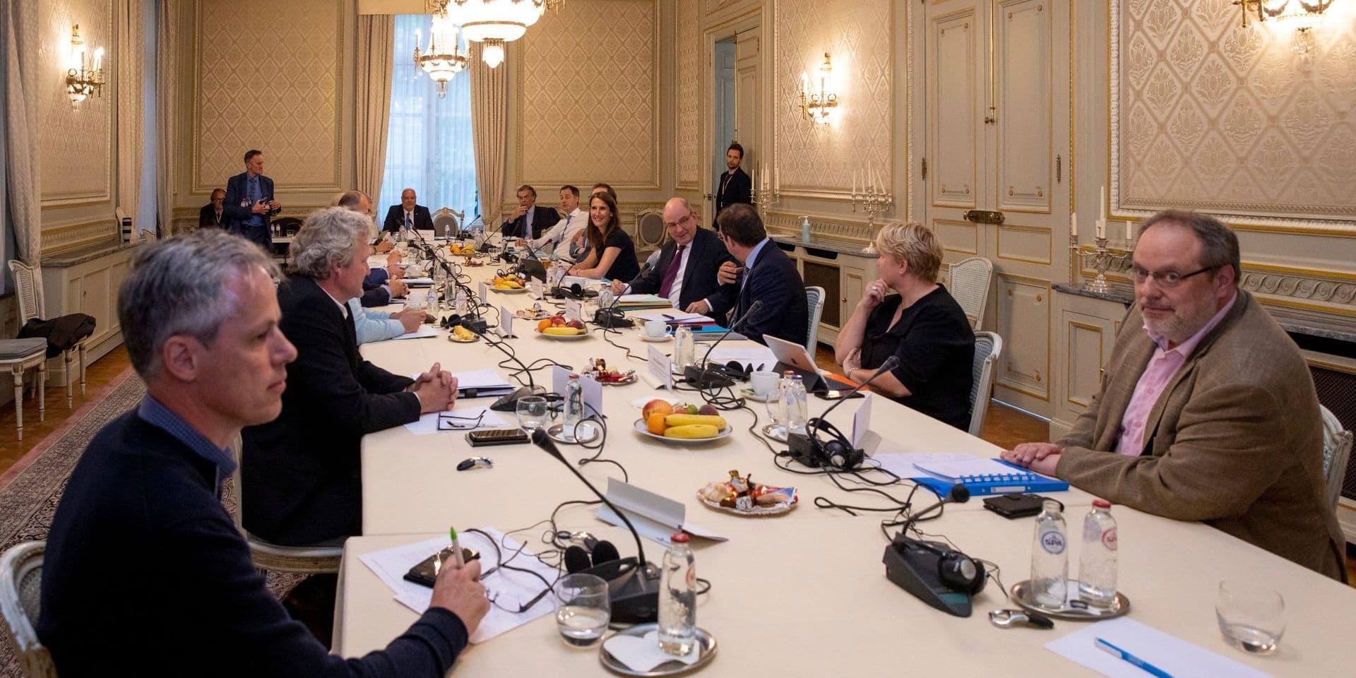 Le Groupe des Dix lors d'une réunion en juillet 2020.