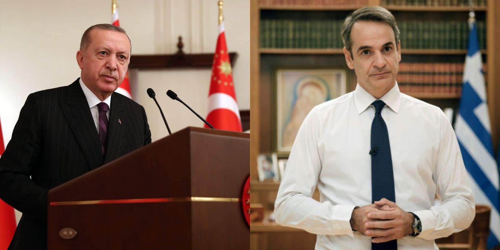 """Méditerranée orientale : Ankara appelle Athènes à """"régler les problèmes"""""""