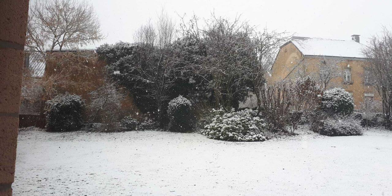 La neige est tombée dans la province de Luxembourg