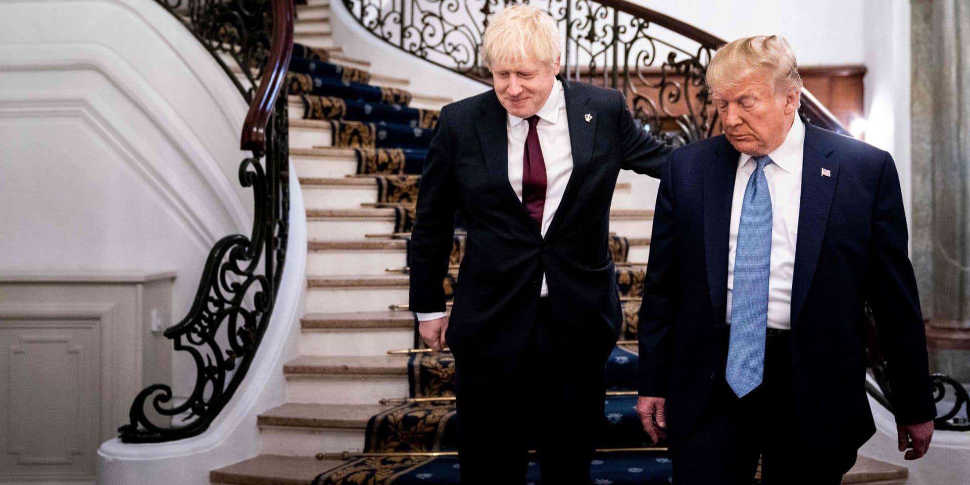 Donald Trump et Boris Johnson se rencontrent pour la première fois en marge du G7