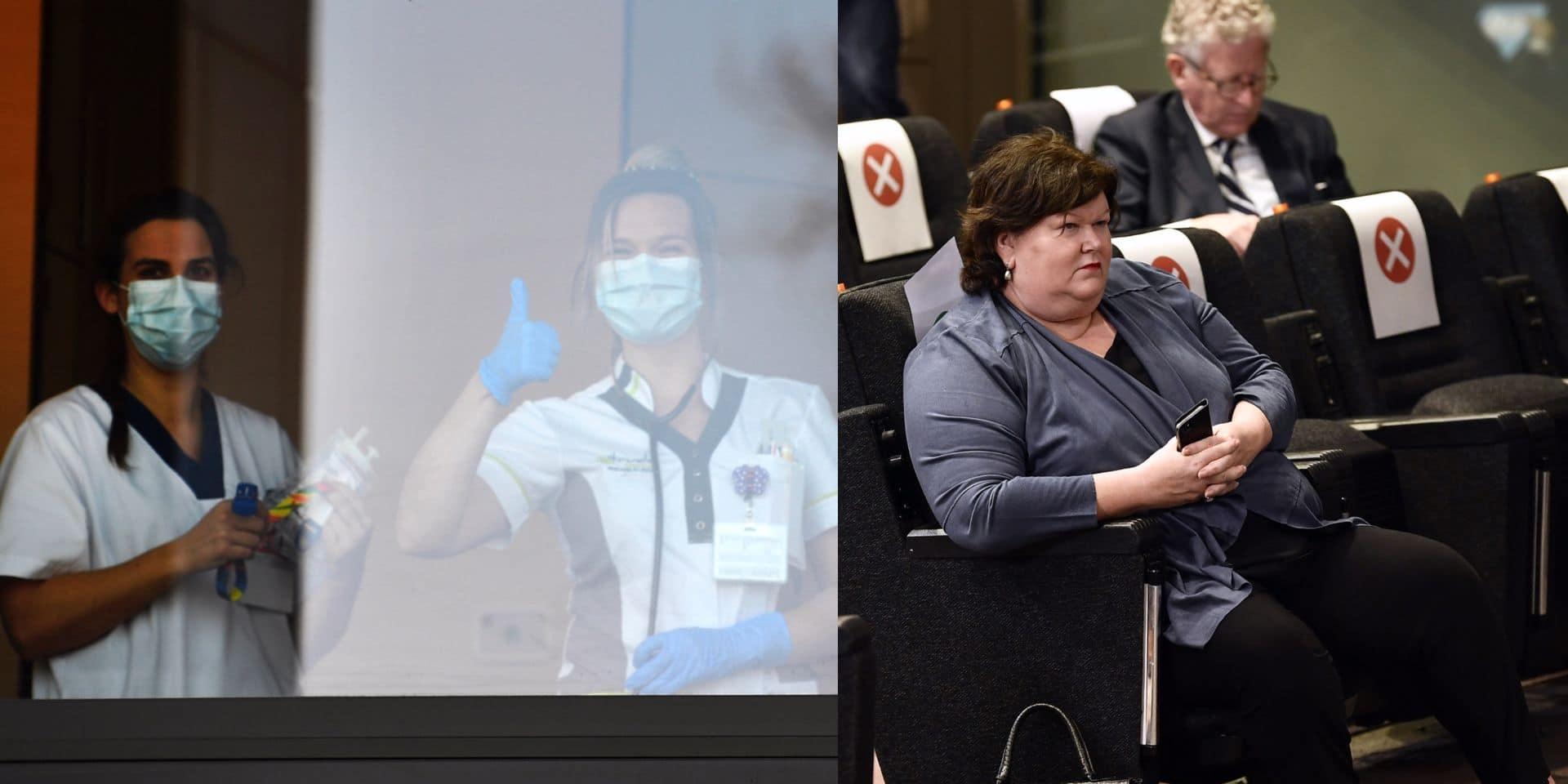 """Transformer les chômeurs en infirmiers, la """"solution miracle"""" de Maggie De Block"""