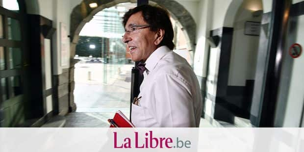 PS chairman Elio Di Rupo pictured during negotiations to form a new Walloon Government, Tuesday 04 June 2019 in Namur, after last week's elections. BELGA PHOTO ERIC LALMAND