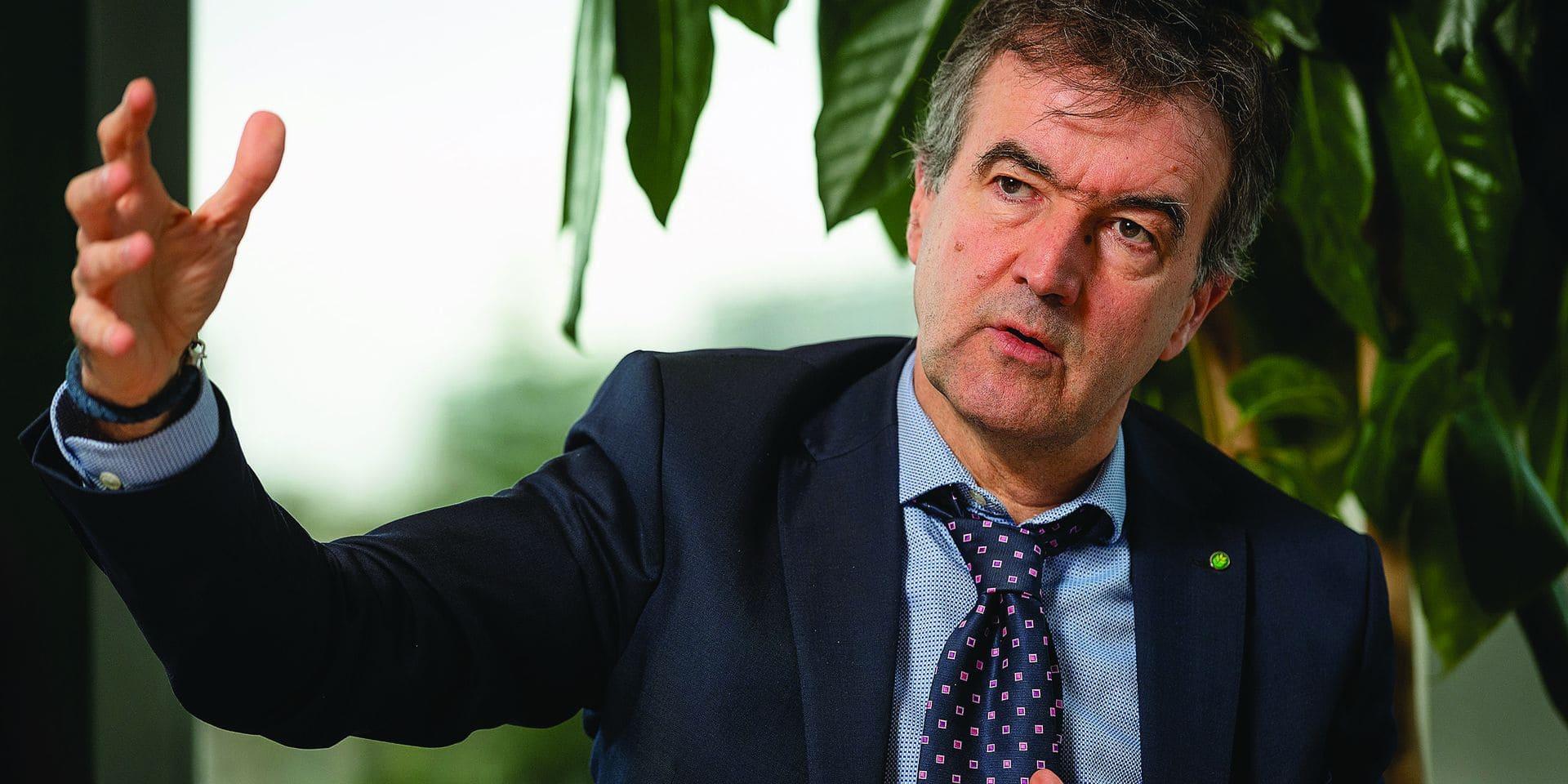 Bruxelels - Anderlecht: Philippe Voisin - CEO Crelan - Banque