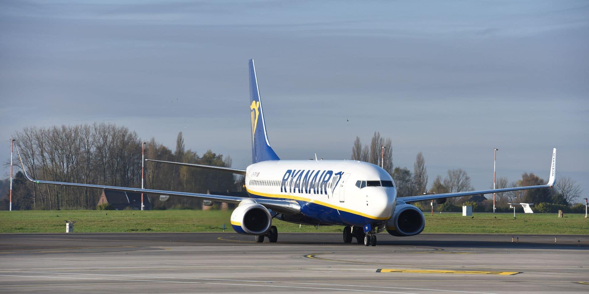 Grève maintenue chez Ryanair les 25 et 26 juillet: environ 30% des vols annulés en Belgique