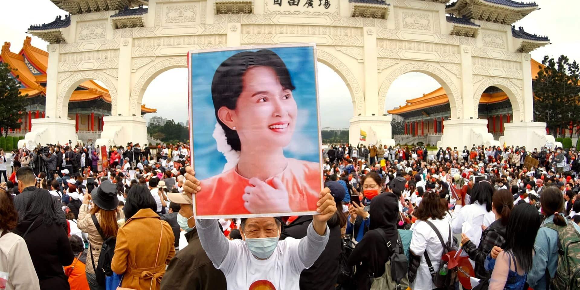 """Birmanie: Aung San Suu Kyi """"en bonne santé"""", réunion du Conseil de sécurité de l'ONU"""