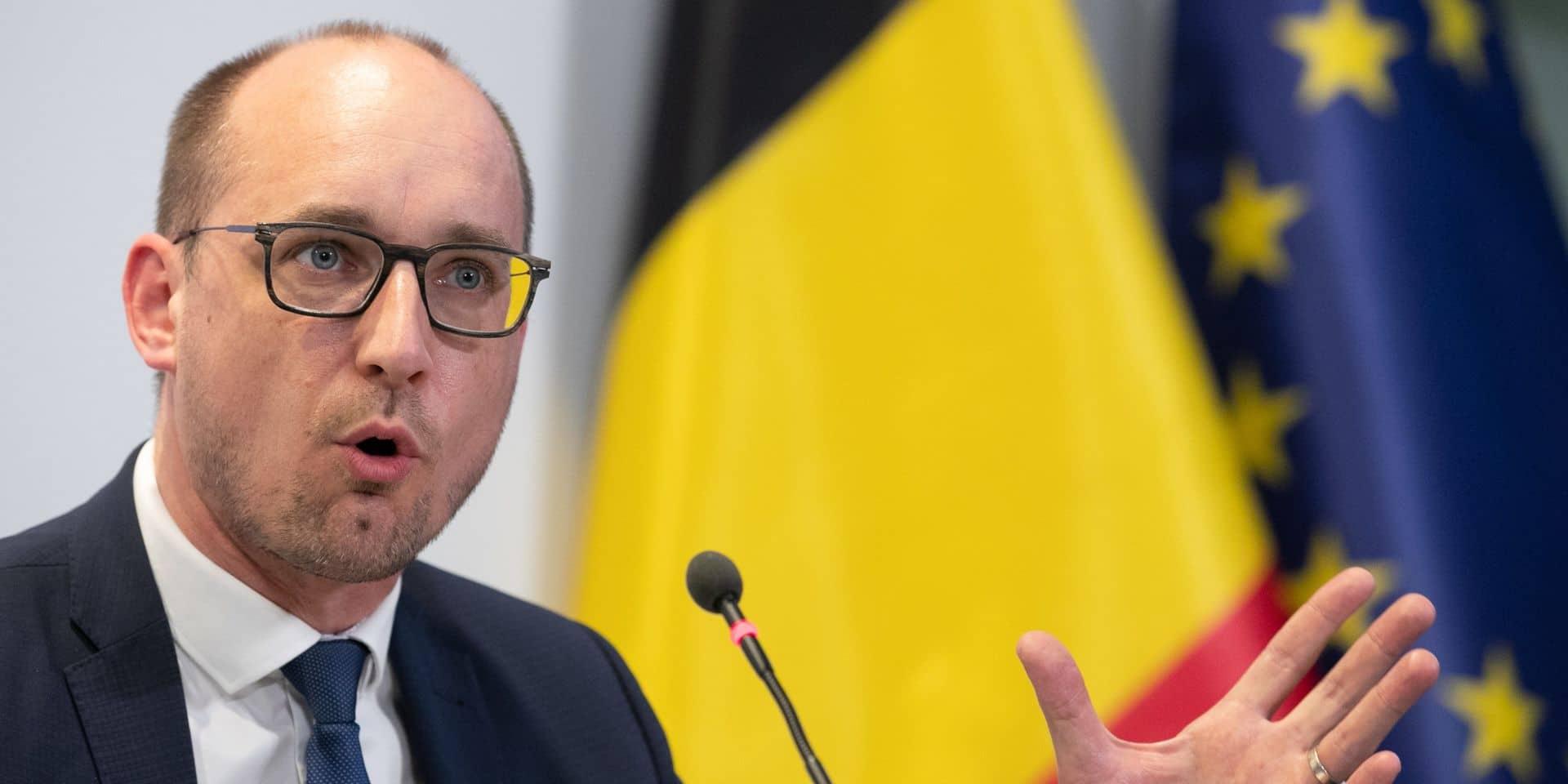 Vincent Van Peteghem (CD&V), ministre des Finances.