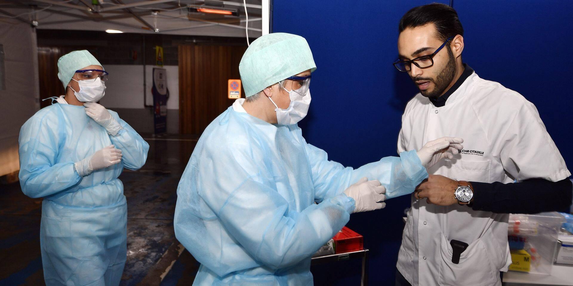"""Les hôpitaux bruxellois s'attendent à voir affluer les patients: """"On est à l'aube d'un tsunami"""""""