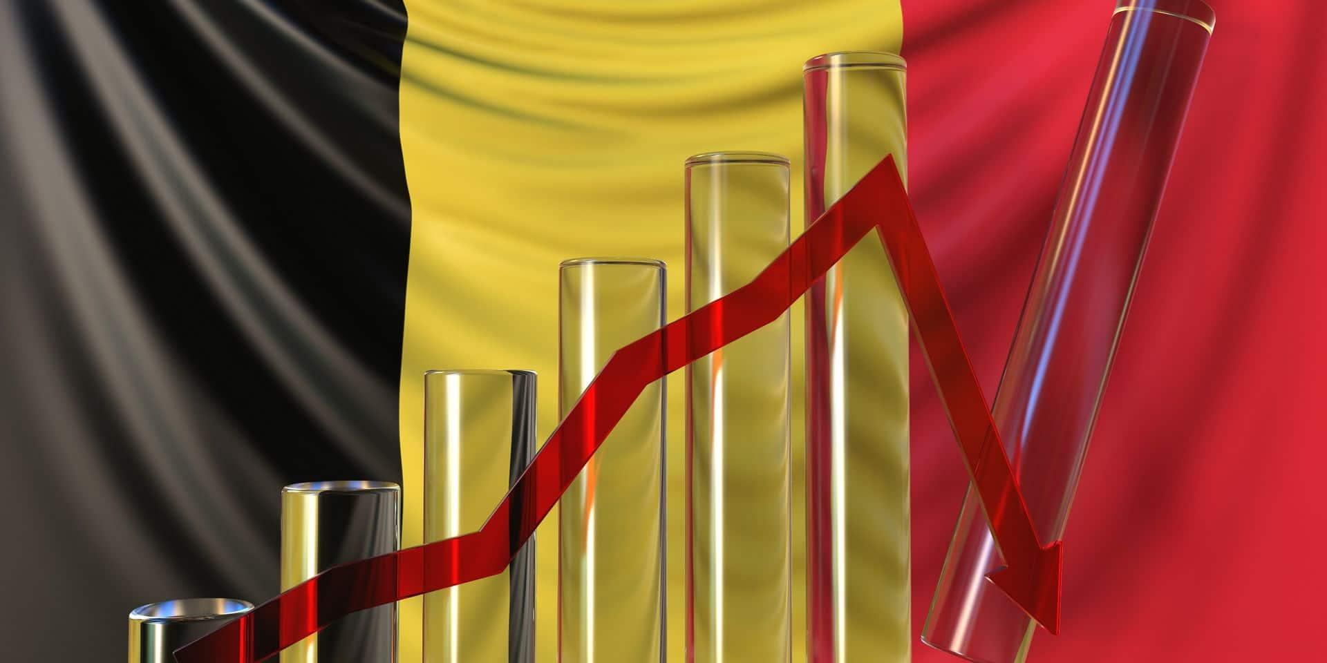 Le PIB belge accuse sa plus forte baisse depuis la Seconde Guerre mondiale