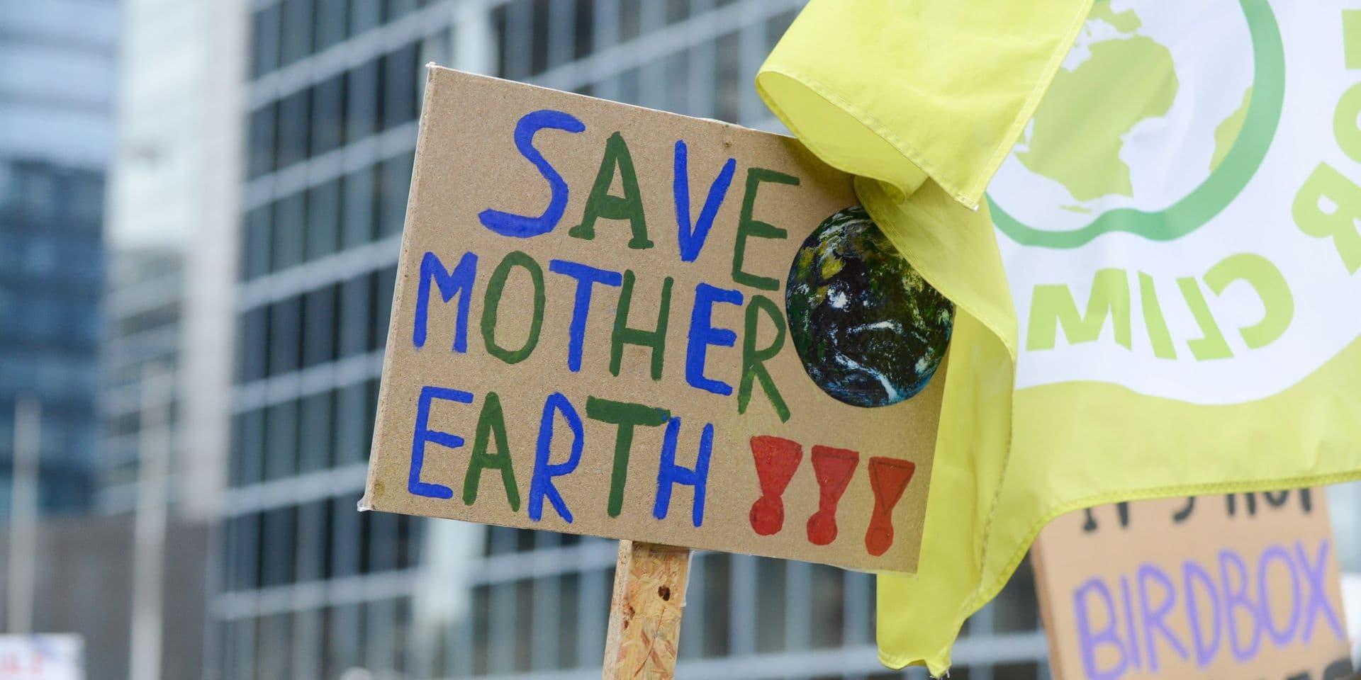 """Les jeunes militants pour le climat taclent la politique environnementale de la Belgique : """"Un échec"""""""