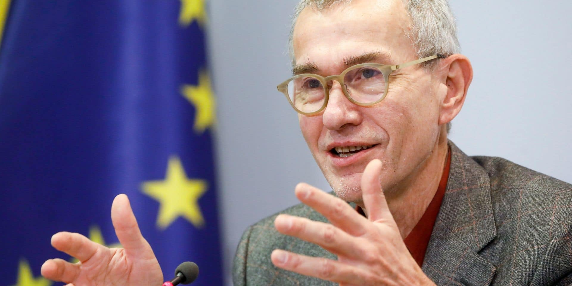 Le ministre de la Santé Franck Vandenbrouck (Vooruit).