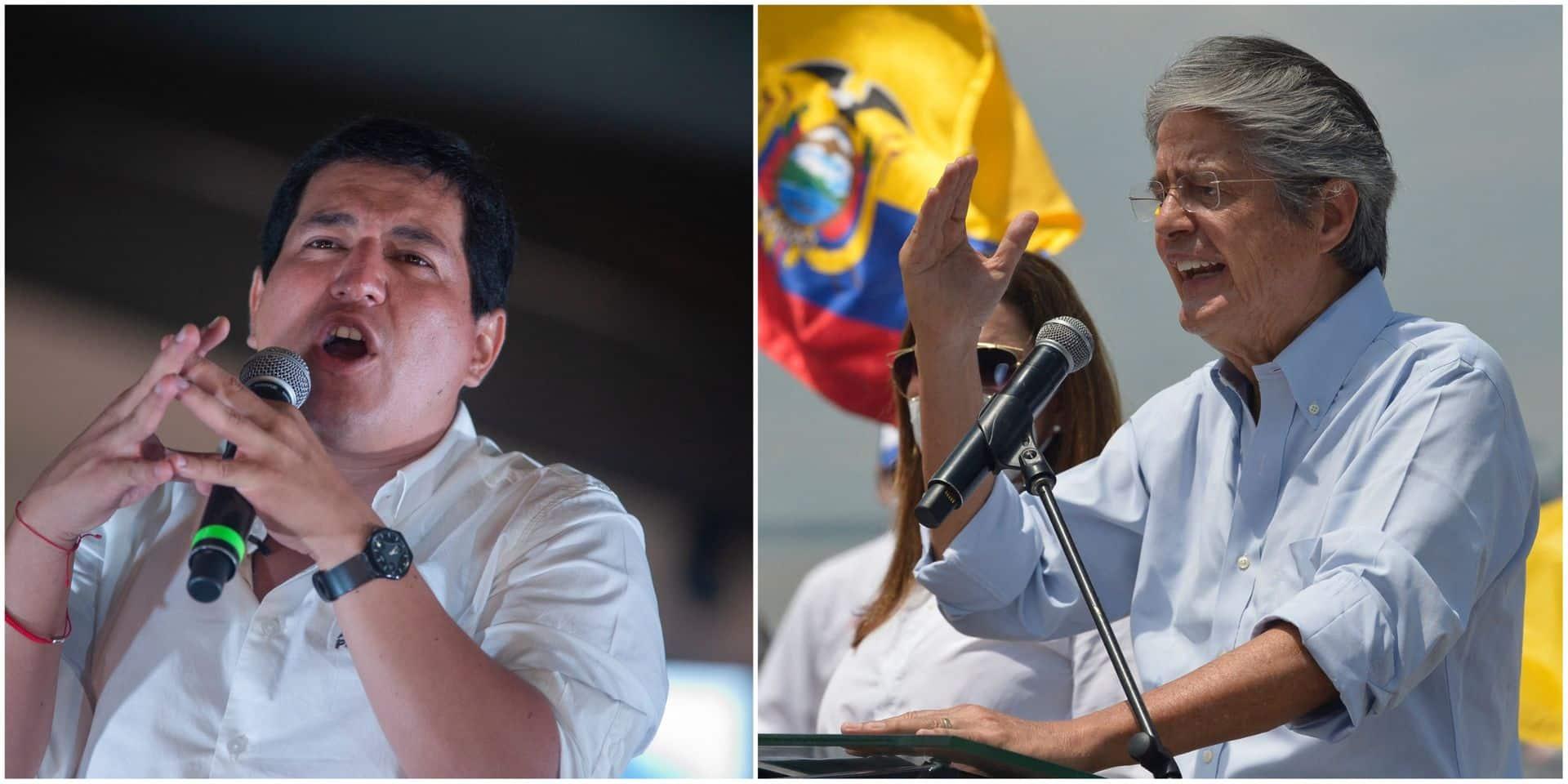 En Equateur, le second tour de la présidentielle voit s'affronter deux candidats que tout oppose