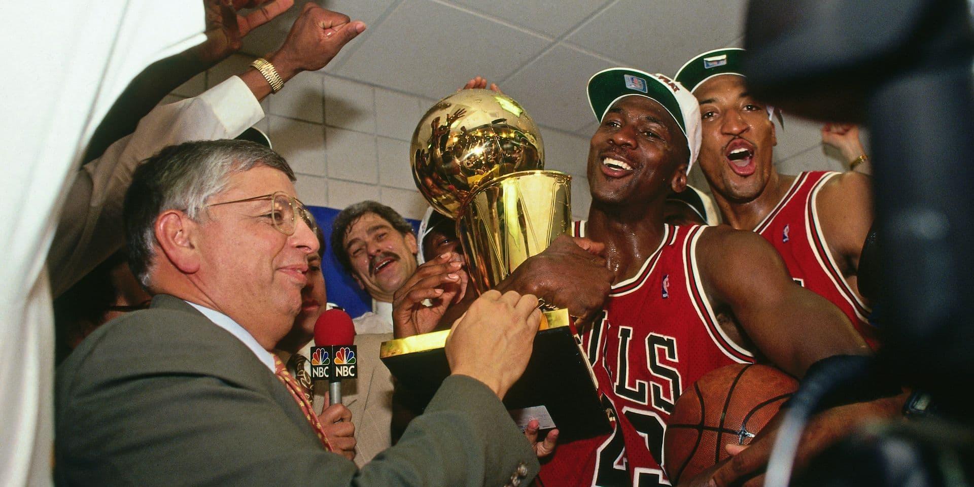 1993 NBA Finals - Game Six: Chicag Bulls v Phoenix Suns