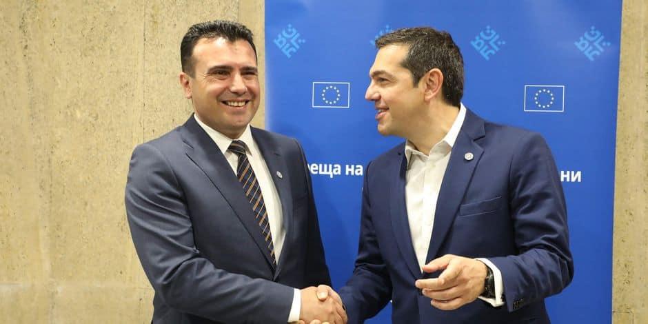 Le nouveau nom de la Macédoine accepté par Athènes
