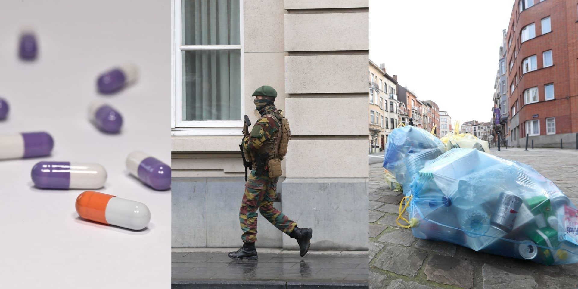 Sac poubelle, militaires en rue et médicaments remboursés: tout ce qui change ce 1er avril