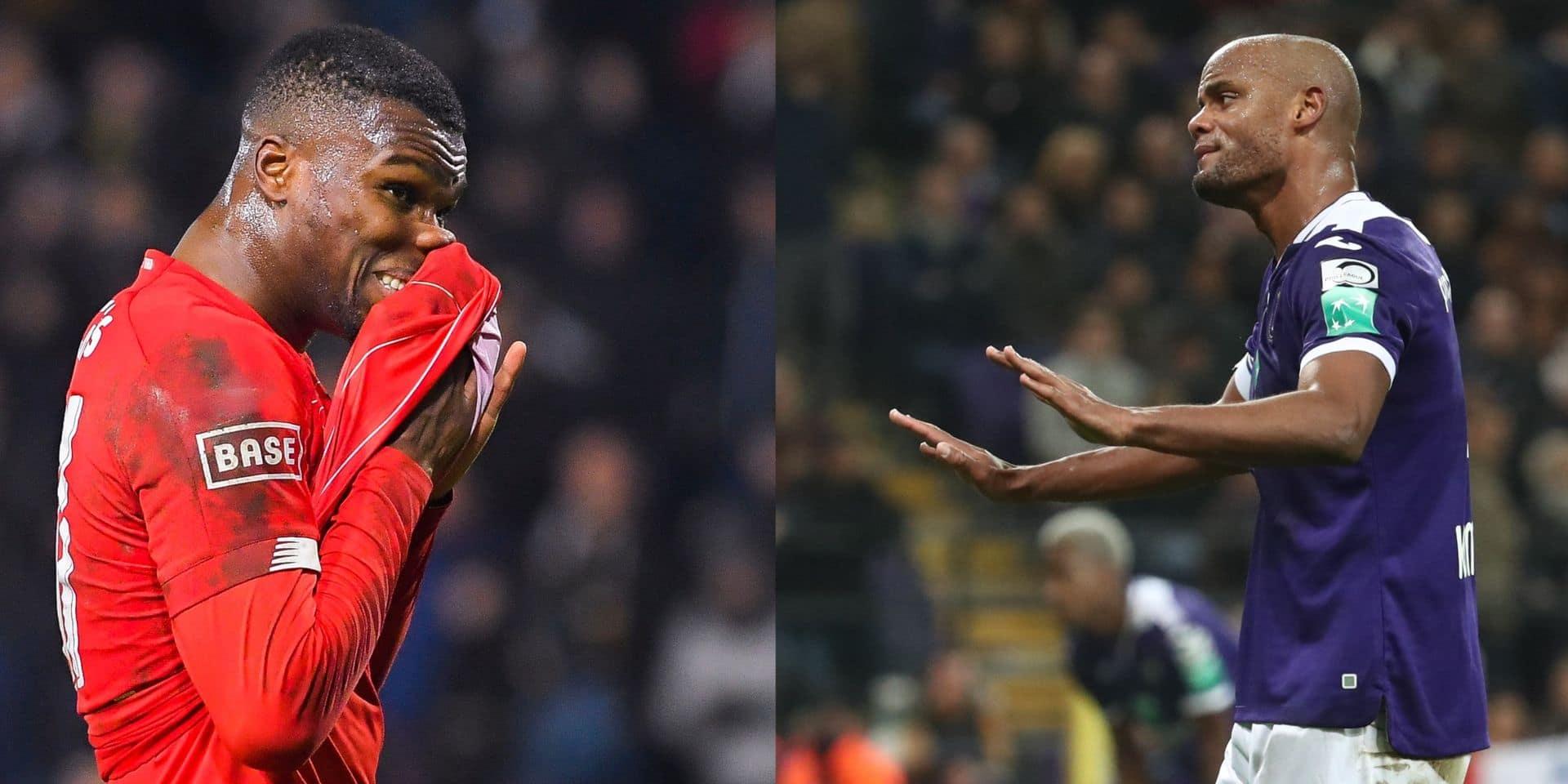 Le Standard et Anderlecht ne passent plus la troisième